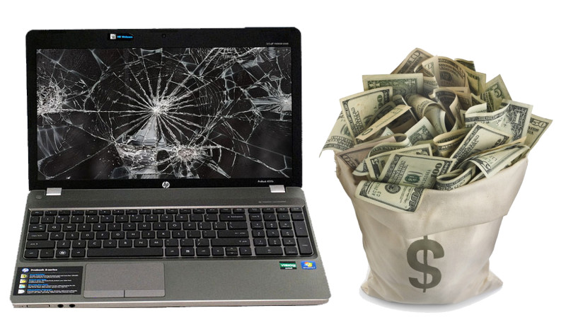 sell broken dell-laptop like a pro